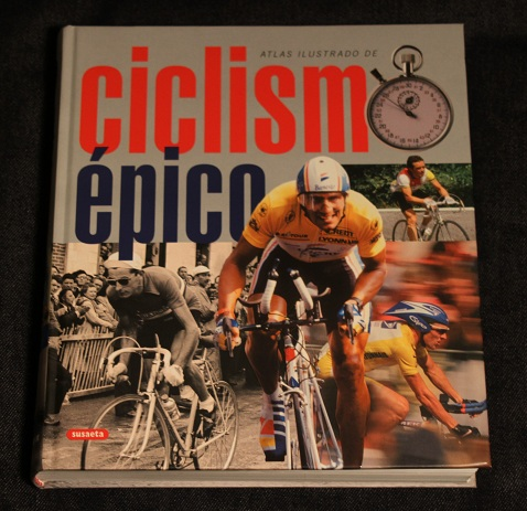 Atlas ilustrado ciclismo epico Susaeta