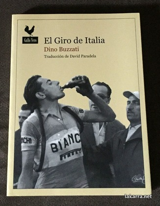 El giro de italia Dino Buzzati