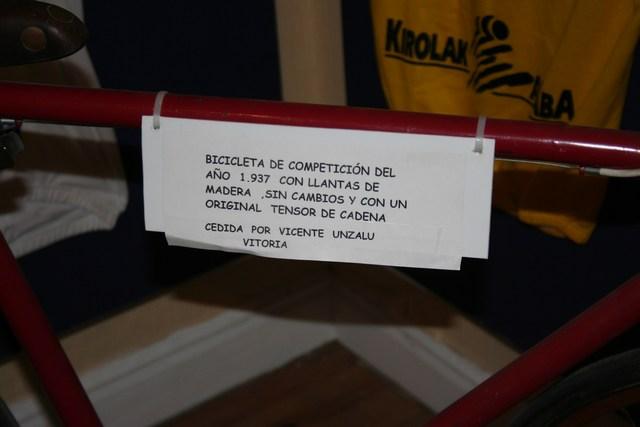 Museo Bicicleta Amurrio Licor Karpy 008