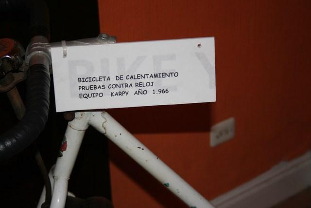 Museo Bicicleta Amurrio Licor Karpy 017