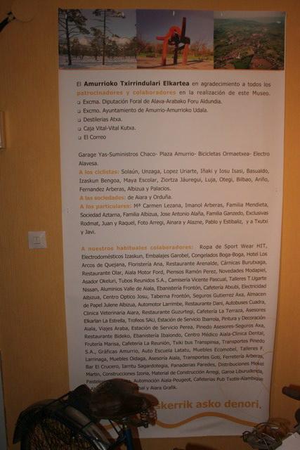 Museo Bicicleta Amurrio Licor Karpy 024