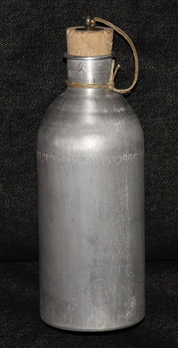 bidon vintage aluminio