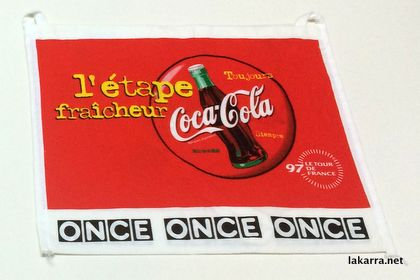 musette 1997 coca cola tdf once