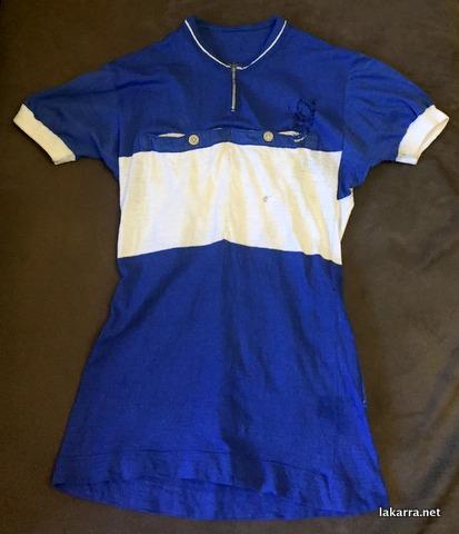 maillot 1940 azul