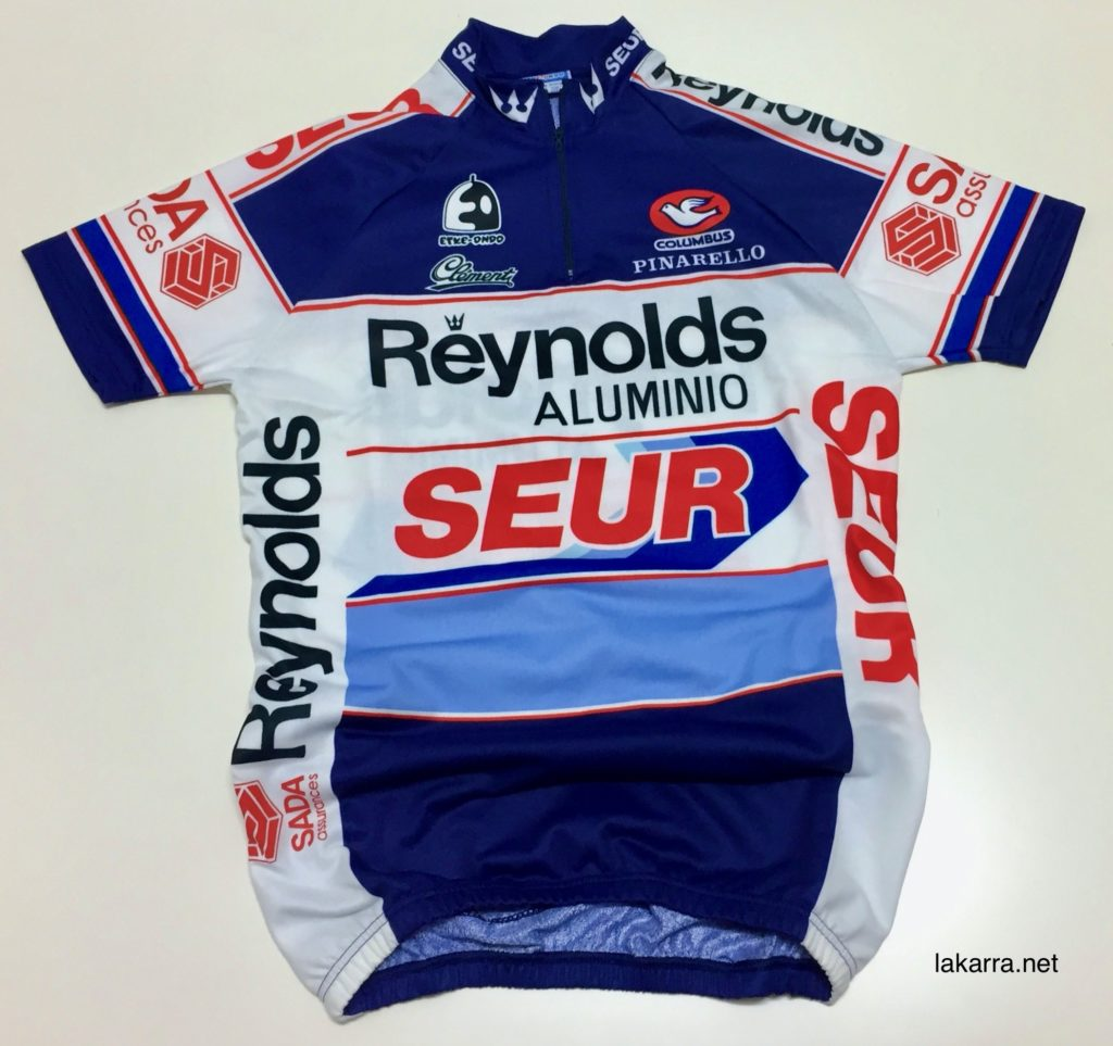 maillot 1987 reynolds seur ts batteries