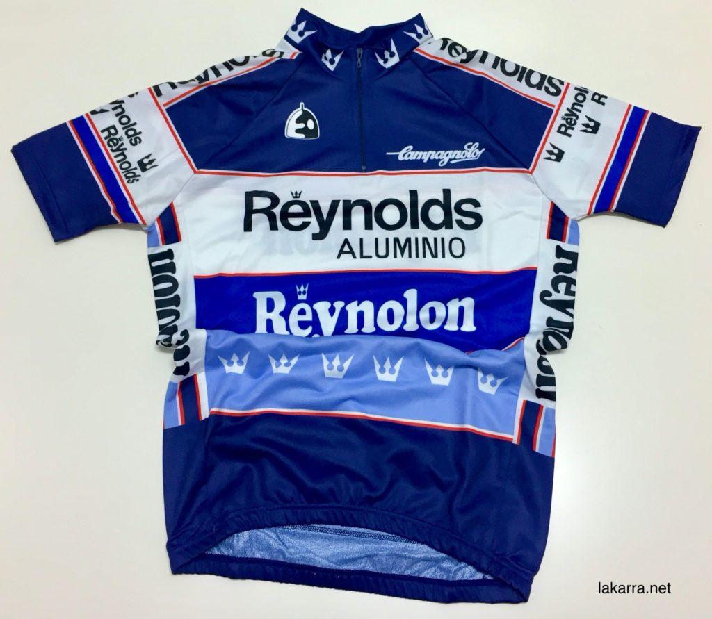 maillot 1989 reynolds banesto reynolon