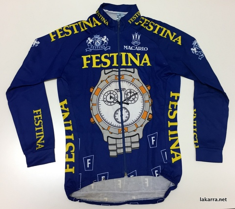 maillot 1992 festina lotus alonso
