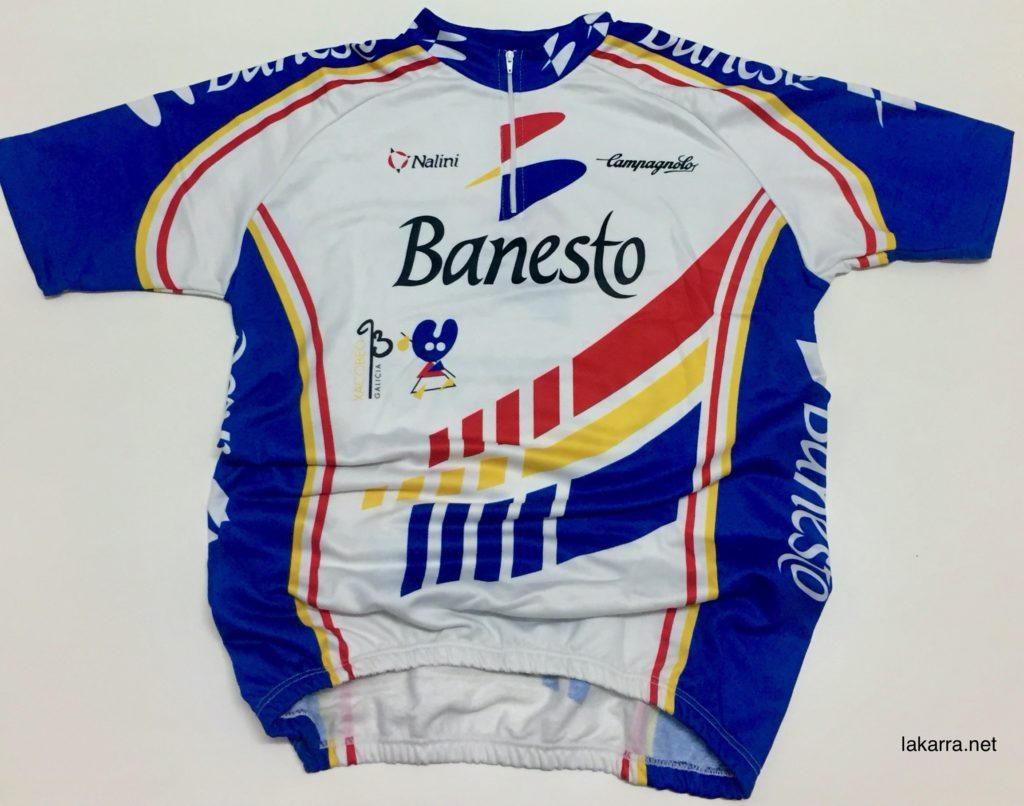 maillot 1993 banesto xacobeo