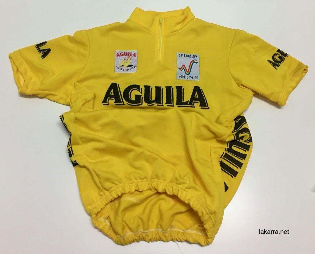 maillot 1995 vuelta españa aguila