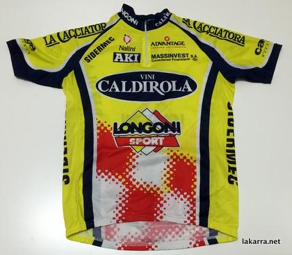 maillot 1998 vini caldirola longoni