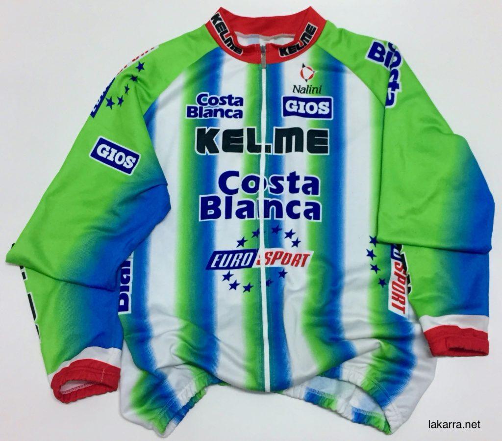 maillot 1999 kelme costa blanca