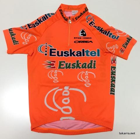 maillot 2001 euskaltel euskadi ramontxu