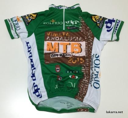 maillot 2013 vuelta andalucia mtb