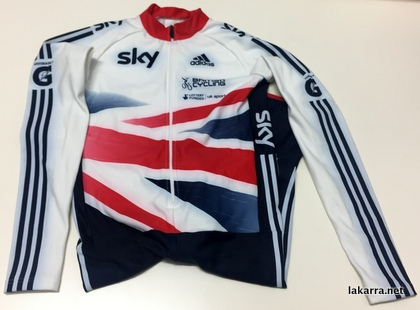 maillot buzo 2018 britisht cycling sky gatorade