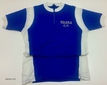 maillot 1980 tolosa fc