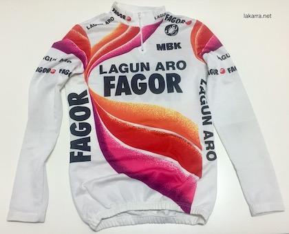 maillot 1988 fagor lagun aro itzulia