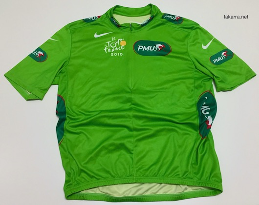 maillot 2011 vert tour de france pmu