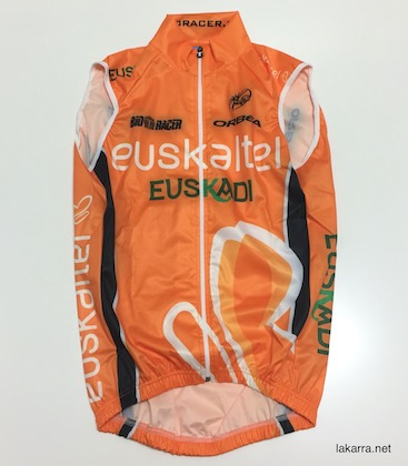 maillot 2013 euskaltel euskadi chaleco