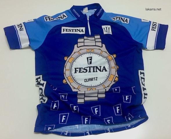 maillot 1991 festina