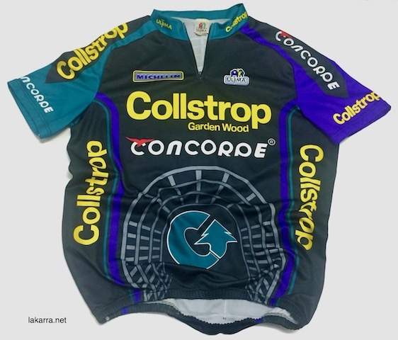 maillot 1994 collstrop concorde willy naessens