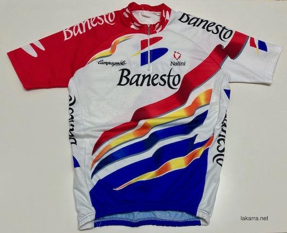 maillot 1996 banesto