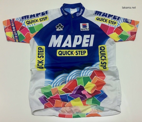 maillot 2001 mapei quick step