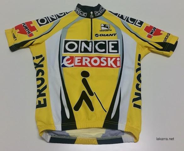 maillot 2002 once eroski