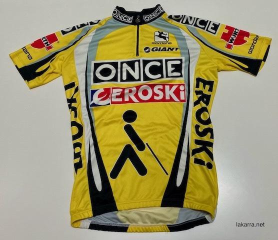 maillot 2003 once eroski