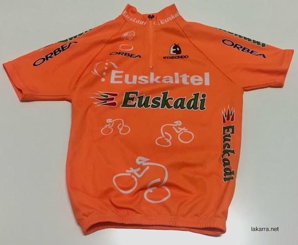 maillot 2004 euskaltel euskadi