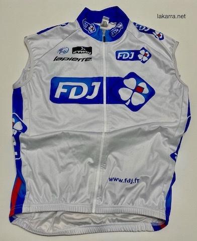 maillot 2013 fdj chaleco