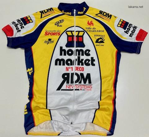 maillot 1999 home market ville de charleroi