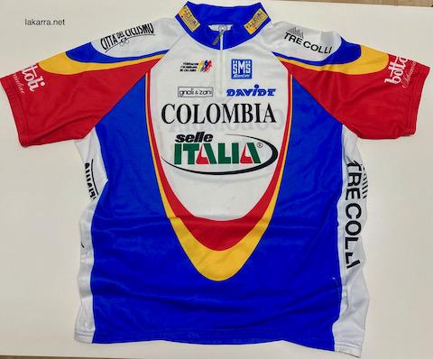maillot 2003 colombia selle italia
