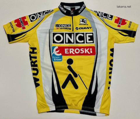 maillot 2003 once eroski azul